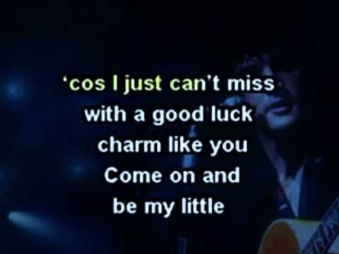 ELVIS GOOD LUCK CHARM,SUSPICIOUS MINDS,LET IT BE ME, Karaoke Medley