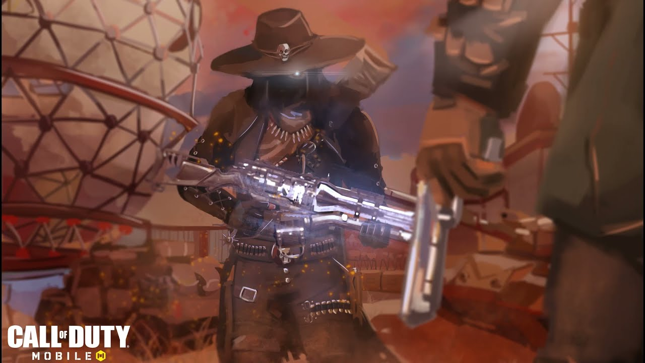 Dark Gunman Artwork by Ford Quebral | Call of Duty: Mobile - Garena