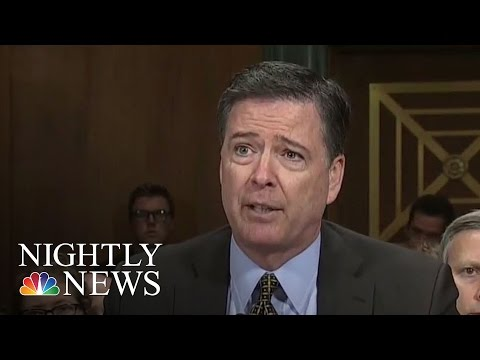 FBI Director Talks Russia, Clinton, Donald Trump Investigations Before Congress | NBC Nightly News