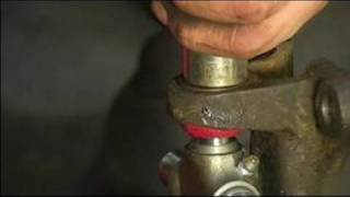 Replacing a Rear Axle U Joint : Installing a New U Joint