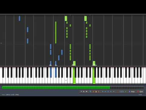 Barns Courtney - Glitter & Gold [Piano Tutorial] (Synthesia) | Netflix 'Safe' Opening Theme Song