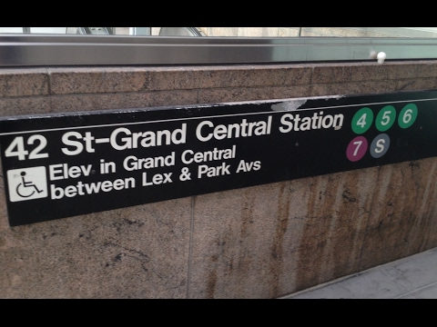 MTA NYC Subway: R62A, R142/A, R188 (4) (5) (6) (7) (S)huttle Trains @ Grand Central 42nd Street