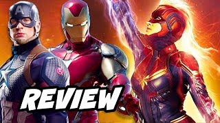 Captain Marvel Review - Captain Marvel vs Avengers Movies