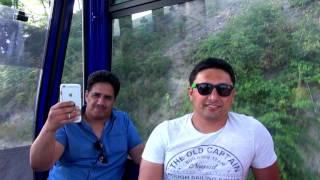 Азербайджан || Город Габала || Комплекс Туфан || Канатная дорога || Горные красоты Азербайджана