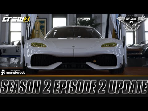 The Crew 2: SEASON 2 EPISODE 2 UPDATE | THE GAME | MOTORPASS, GEMERA, MORE STUNT TRACKS & MORE |