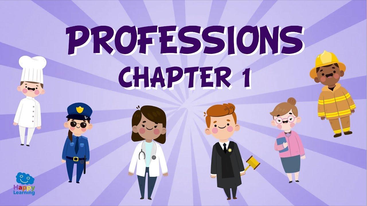 Vocabulario De Las Profesiones En Inglés 1 Vídeos Educativos Para Niños Aprende Inglés