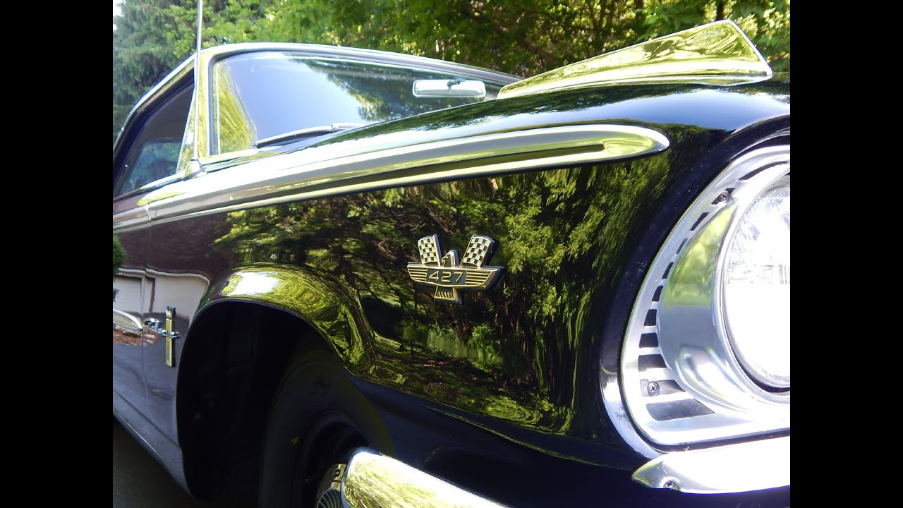 1963 Ford Galaxie 500 R-Code 427 Dual 4bbl 4-Speed