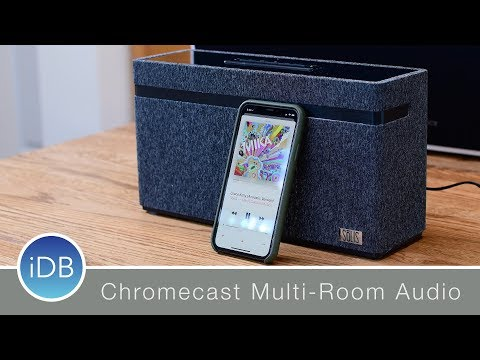 SōLIS Smart Speaker works w/ Google Home & Chromecast Multi-Room Playback Mp3