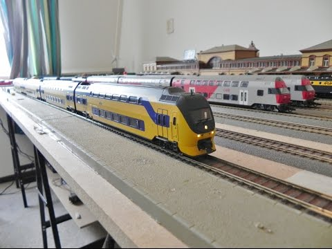 Rivarossi Ho Dcc Model Train Layout Update 138 NS VIRM