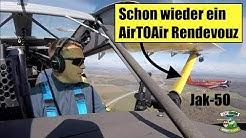 Jak-50 Air to Air Rendevouz  Herzogenaurach  Ultraleichtflugzeug  pilot_frank