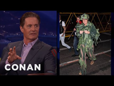 Kyle MacLachlan Is Really Into Halloween  - CONAN on TBS