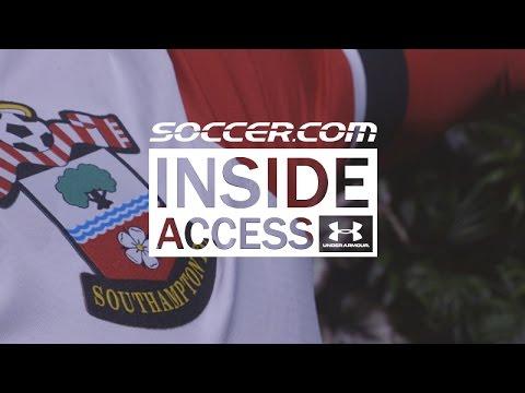 INSIDE ACCESS : 2016/17 UA Southampton FC Jersey Launch