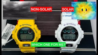 Are Solar Watches Better than Battery Operated? Solar VS Non-Solar G-Shock Watches, PROS AND CONS