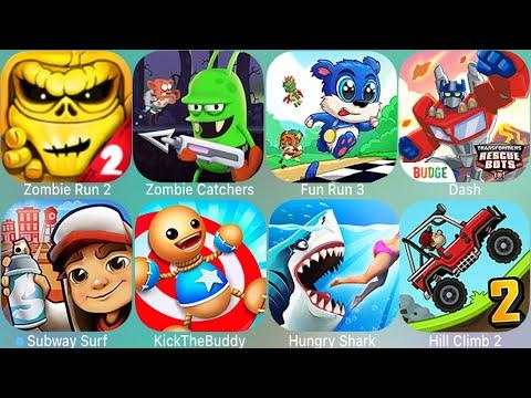 Endless Run,Zombie Catch,Hungry Shark,Fun Run 3,Zombies,Dash,Subway Surfes