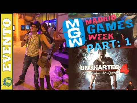 Madrid Games Week 2015 / Prensa, Uncharted 4, PlayStation VR, Dark Souls 3 y Battlefront / Parte: 1