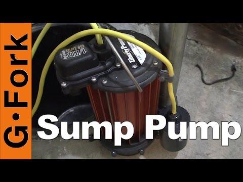 Sump Pump Installation In Basement - DIY Project - GardenFork