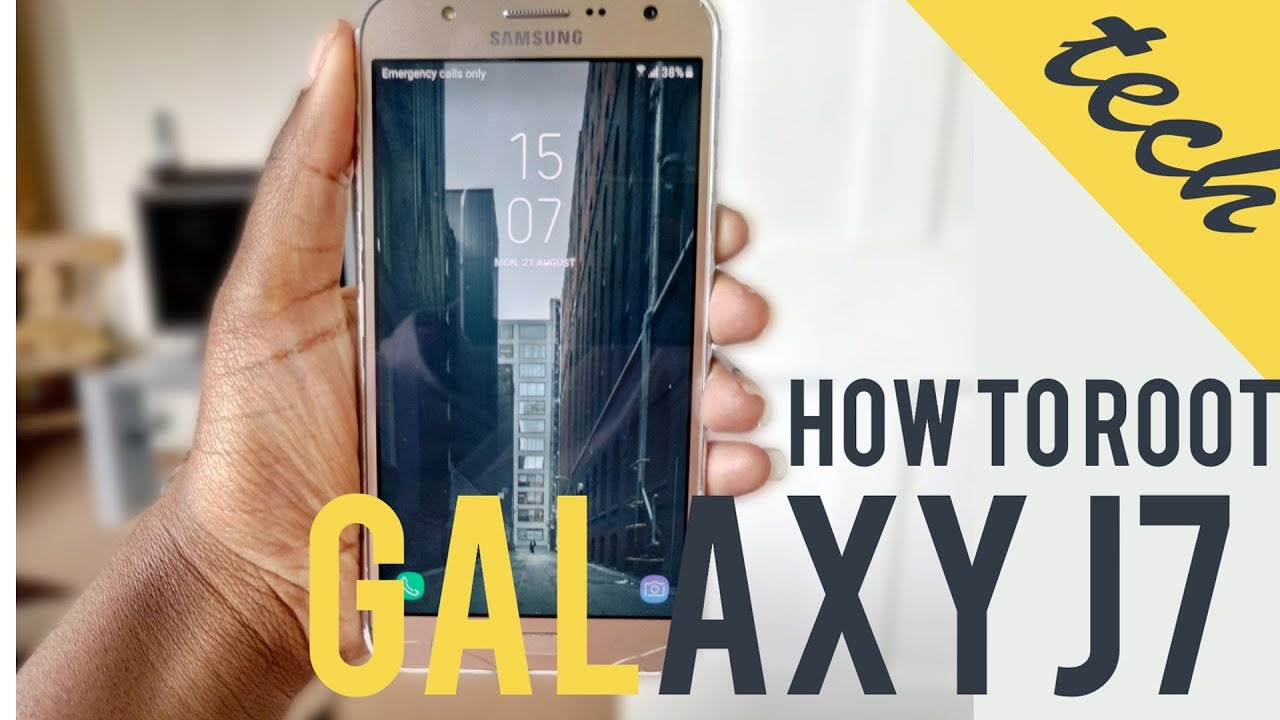 How To Root Galaxy J7 2015 Sm J700h Twrp Youtube