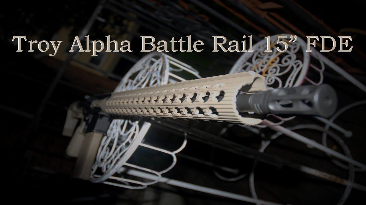 Installing Troy Alpha Rail
