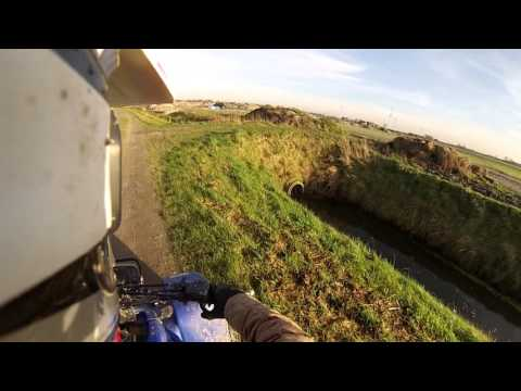 Yamaha Blaster 200 - Top Speed - GoPro