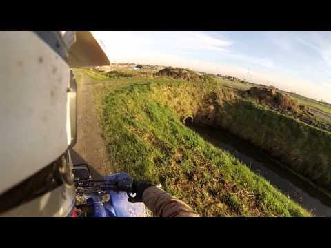 Yamaha Blaster 200 - Top Speed - GoPro