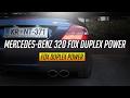 Mercedes-benz clk 320 w209 FOX quad exhaust sound