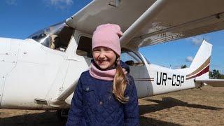Полёт на самолёте Cessna - 172 Flight by plane