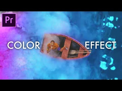 Premiere Pro Music Video Color Shift Effect (Calvin Harris - Feels ft. Pharrell Katy Perry Big Sean)