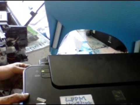 Canon Printer Pixma Ip 1980 Cara Mengatasi Ink Absorber Full Youtube