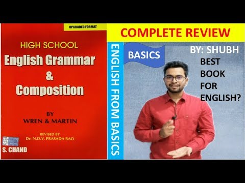 Best Book To Improve ENGLISH  WREN AND MARTIN ENGLISH BOOK REVIEW
