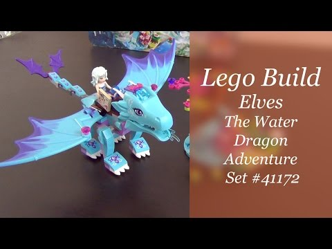 Let's Build - LEGO Elves The Water Dragon Adventure Set #41172