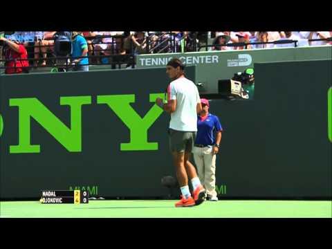 Nadal Has Winning Reply To Djokovic Smash