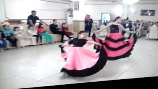 Испанский танец очень легкий