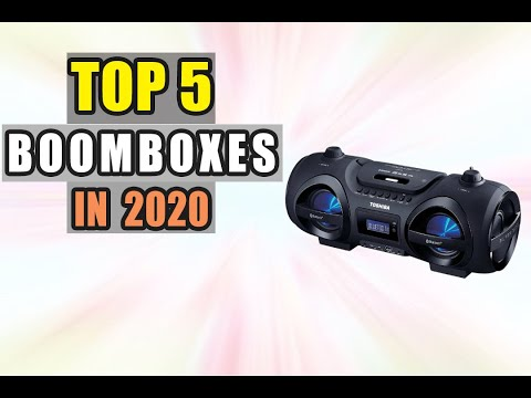 Best Portable Wireless Boomboxes of 2020 || Top 5 Portable BlueTooth Boomboxes Reviews