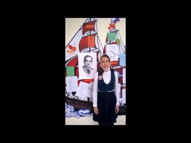 Изображение предпросмотра прочтения – АнастасияФедоровская читает произведение «Октябрьский рассвет» И.А.Бунина