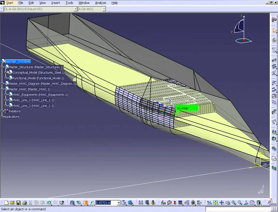 CATIA V5 - HVAC Schematic to Design (HVE) - YouTube