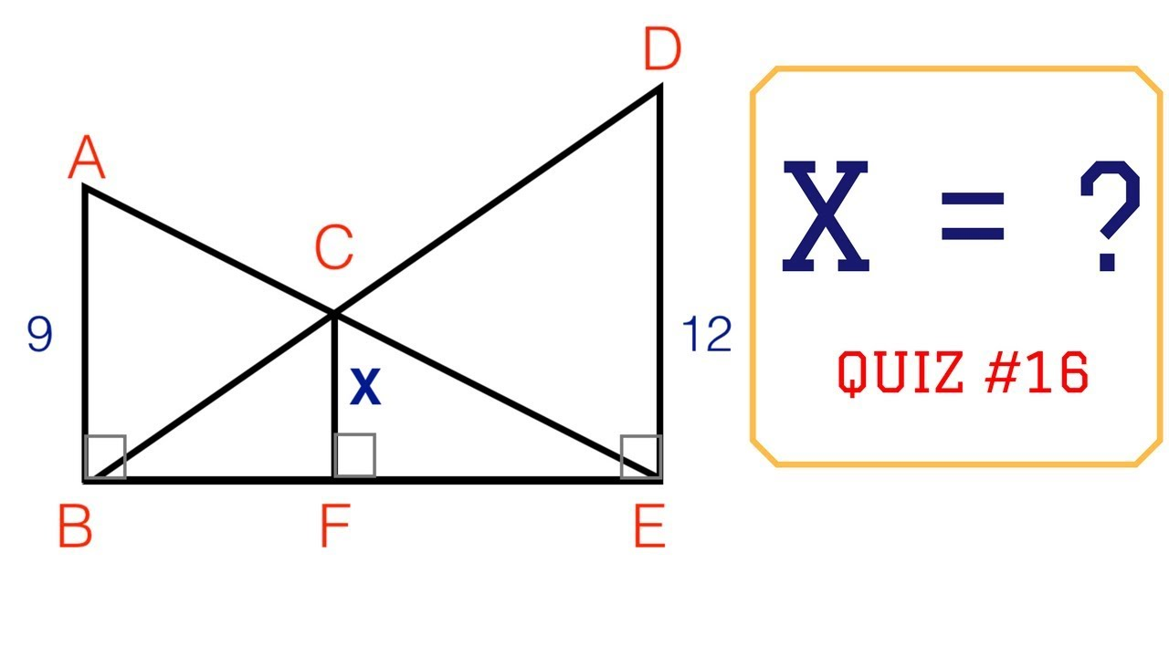 Math Puzzles With Answers In 60 Seconds Can You Find X Youtube