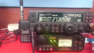 Test antena sigma 4, 11 Meter Band