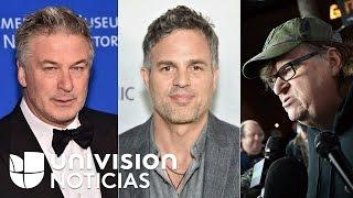 Michael Moore, Mark Ruffalo y Alec Baldwin marcharán en Nueva York contra Donald Trump el jueves