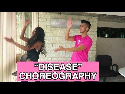"TEACHING YOU ""DISEASE"" CHOREOGRAPHY"