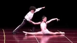 ABDA 2015 YIL SONU KIDS DANCE SALSA -KOREOGRAFİ ONUR ALP&SU GİZEM