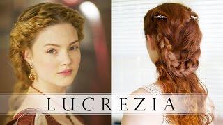 The Borgias Hair Tutorial - Lucrezia Borgia