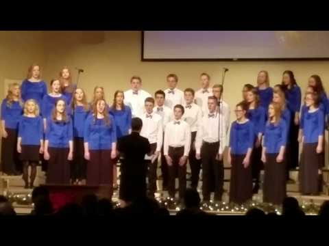 Shekinah Christian School (Plain City, OH) Choir - performing at RBC