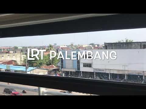 Ujung Ke Ujung Kota Palembang Bersama LRT