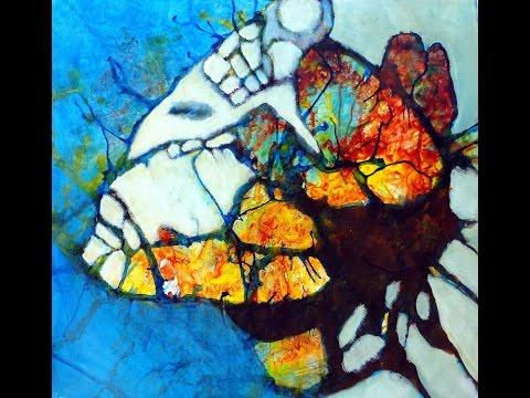 Acrylmalerei Gerda Lipski