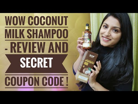 WOW Shampoo Review | WOW Coconut Milk Shampoo Review | Hair Growth | Stop Gray Hair & Hair Thinning