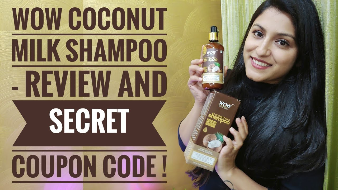 WOW Shampoo Review   WOW Coconut Milk Shampoo Review   Hair Growth