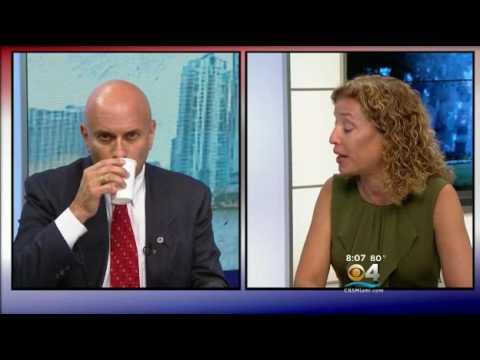 Part 1 - Tim Canova Debates Debbie Wasserman Schultz - Facing South Florida