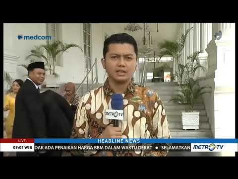 Ini 9 Gubernur yang Dilantik Jokowi di Istana