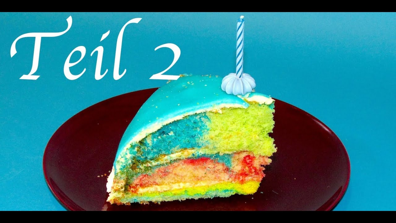 rainbowcake regenbogenkuchen teil 2 fondant decke rezept einfachkochen youtube. Black Bedroom Furniture Sets. Home Design Ideas