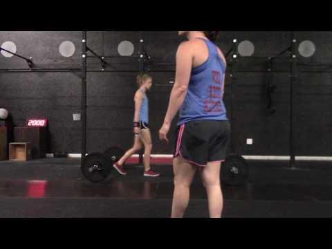 Chloe Smith, CrossFit Unlimited Crowley, Teens 14-15 Qualifier Wod No. 4